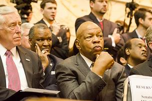 U.S. Rep. Elijah Cummings, right, is investigating claims that Wal-Mart Stores Inc. used a Mexican governor to carry out bribes.