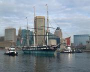 USS Constellation: With admission costing $11 to tour the USS Constellation docked in Baltimore's Inner Harbor, Flacco could tour the historic ship nearly 11 million times.