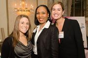 Karrianne Zito, human resources specialist, Mary Kraft Staffing and HR Solutions; Patricia Minor, certified etiquette consultant, Etiquette School of Maryland; and Nicole Obringer, human resources associate, Mary Kraft Staffing and HR Solutions.