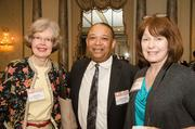 Lynn Agress, president and author, Business and Legal Writing; Derrick Camper, small business product consultant/international trader, Ocean Atlantic Marketing Company; and Cynthia Allen, vice president/financial advisor, RBC Financial.
