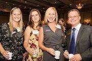 Mary Dael, Charities & PR Manager, Barks & Blooms, LLC; Sandy Kempton, Social Media and Communications Coordinator, Barks & Blooms LLC, Colleen McDonough, President, Barks & Blooms LLC; Kevin Goodman, Managing Director, Chapin Davis