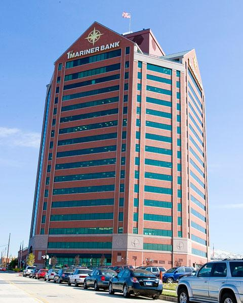 COPT owns the First Mariner tower in Canton.