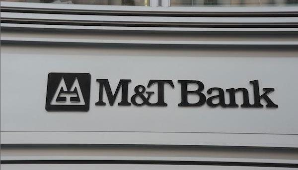 M&T Bank's profit surged in the third quarter.