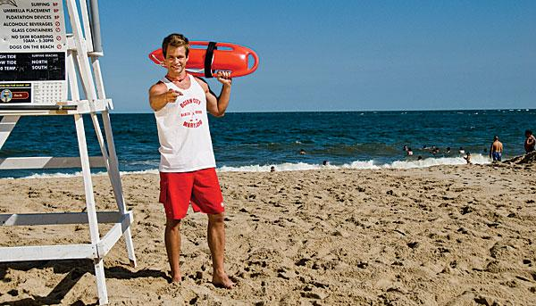 The fictional Rodney the lifeguard was created by MGH.