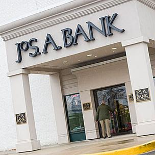 Jos. A. Bank hit record sales in 2010.