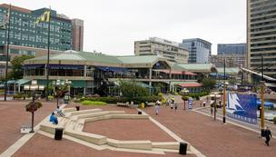 General Growth's properties include Harborplace.