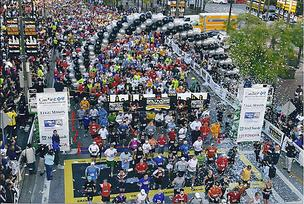 The 2010 Baltimore Running Festival drew more than 22,000 participants.