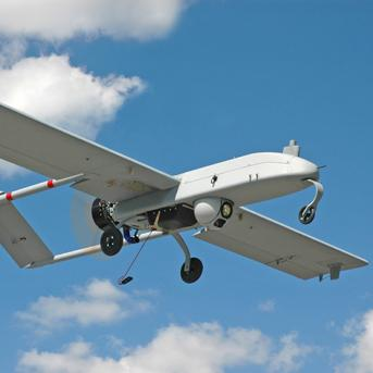 An unmanned drone manufactured by AAI.