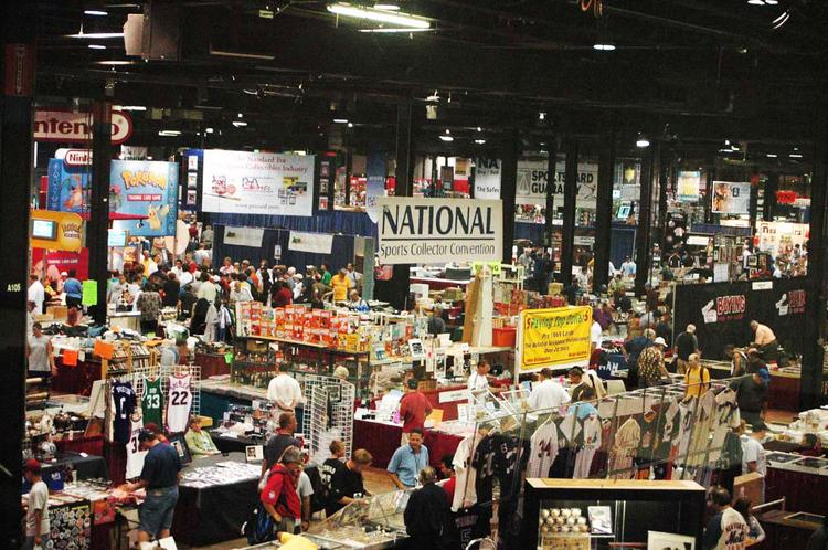 The 2011 National Sports Collector Convention in Chicago. This year's event will be held in Baltimore from Aug. 1-5.
