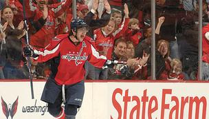 Alex Ovechkin and the Washington Capitals will play a preseason game at First Mariner Arena on Sept. 20.