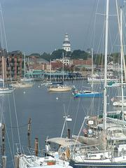 "Best place in the Baltimore area for boating:Annapolis. Frequently called the ""sailing capital of the world,"" Annapolis is a haven during the summer months for sailing and fishing."