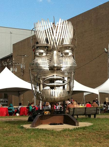 Events like Baltimore's annual Artscape festival, above, receive funding from the Maryland State Arts Council.