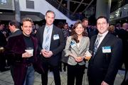 Nestor Aparicio, CEO of WNST; Paul Terrill, vice president of sales and marketing at iProcess Online; Carolyn Panzer, director of business development at Gorfine, Schiller & Gardyn; Mike Pomerantz, recruiter at Mergis Group.