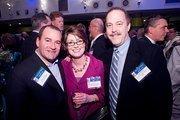 Billy Yerman, president of the Strata Group; Jennifer Bodensiek; Steve Braun, CEO of Search Consultants.