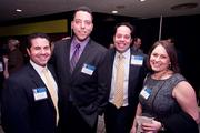 Justin Hoffman, marketing director at PSA Insurance & Financial Services; Joseph Zajdel, vice president of commercial banking at The Columbia Bank; Christopher Schafer, Christopher Schafer Clothier; Adele Zilber.