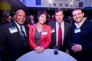 Barry Robinson, chief of transit and marine services for the Baltimore Department of Transportation; Sarah Husain, transit coordinator for the Charm City Circulator; Scot Loiselle, principal and co-founder of L2M Architects; Avi Gunzburg, owner of the Carpet Warehouse.