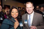 Tracy Darrington and Gavin Watson of Enterprise Rent-A-Car.