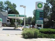 A BP station in Roland Park was closed on Monday due to a lack of power.
