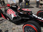 City Council President Bernard C. 'Jack' Young sits in an Indy car outside of City Hall in May 2010 after officials gave approval to the Baltimore Grand Prix. Young would later come out against the race.