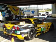The Corvette C6.R No. 3 car from Corvette Racing. Drivers are Olivier Beretta, Tommy Milner and Antonio Garcia.