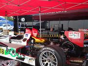 A stripped down Oreca FLM09 from Performance Tech. Drivers are Anthony Nicolosi and Jarrett Boon.