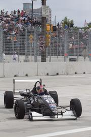 More than two years after the idea of a Baltimore Grand Prix was floated, F2000 cars took to the city's road for practice run on Sept. 2 to officially start the event.