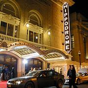The Hippodrome, Baltimore's Broadway venue, sits across the street from the Everyman Theatre. The two hope to collaborate on promotions.