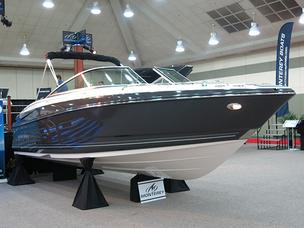 The Baltimore Boat Show kicked off Thursday at the convention center.