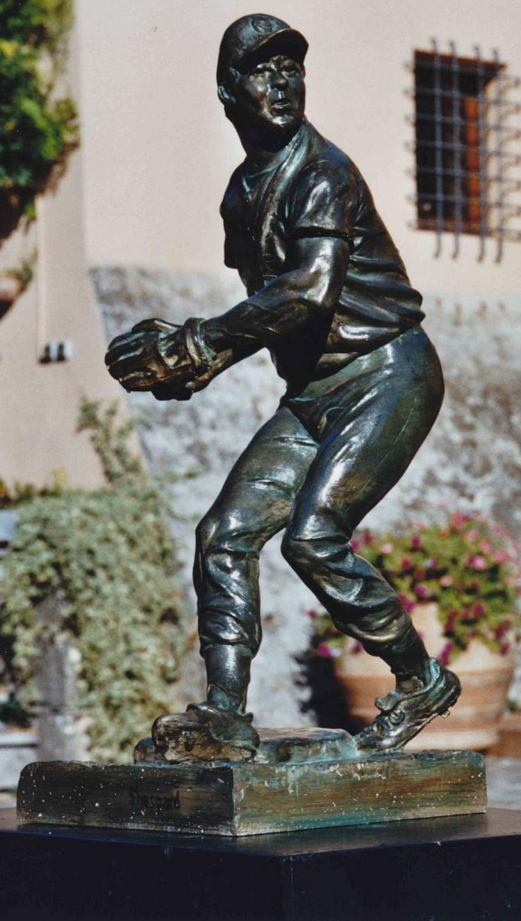 A model of the Brooks Robinson statue set to be unveiled near Oriole Park on Oct. 22.