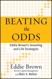 Eddie Brown penned his first book, 'Beating the Odds: Eddie Brown's Investing and Life Strategies.'
