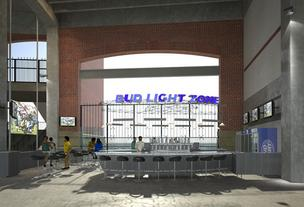 Bud Light Zone, M&T Bank Stadium, Ravens