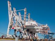 Officials with Ports America Chesapeake said the cranes could be fully operational by September.