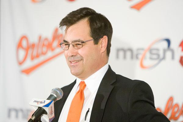 Baltimore Orioles owner Peter Angelos has shown distrust for general managers, but in January rewarded Dan Duquette with a contract extension.
