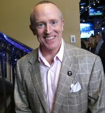 David Modell in New Orleans on Friday at a party hosted by the Ravens. The former president of the team says he is looking forward to enjoying Super Bowl weekend.
