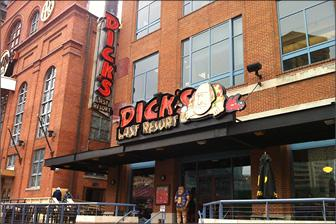 Dick's Last Resort is expected to open at Newport on the Levee in the spring.