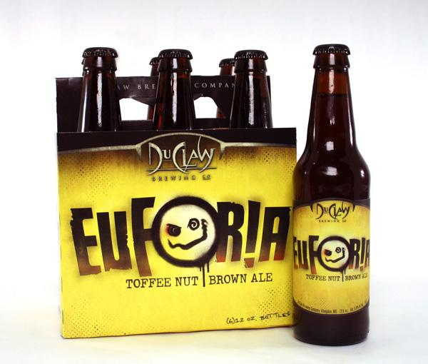DuClaw's toffee nut brown Euforia ale.