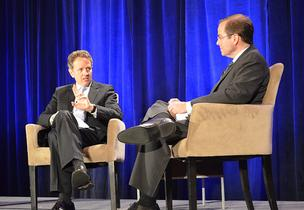 U.S. Treasury Secretary Timothy Geithner was interviewed by MPT's Jeff Salkin