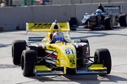 The Grand Prix of Baltimore got underway Friday morning as cars from the Star Mazda series hit the streets for a practice run.