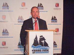 Tim Mayer, general manager of the Grand Prix of Baltimore