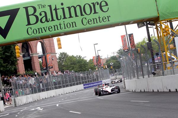 The inaugural Baltimore Grand Prix raced over Labor Day weekend in 2011.