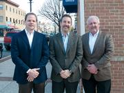After the city terminated a contract with race organizers Baltimore Racing Development on Dec. 30, it tapped a group led by (from left to right) Felix Dawson, Dale Dillon and Dan Reck to lead the 2012 race. The deal with that group, too, came to an end just months later.