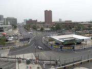 Crowds were sparse at certain areas of the Grand Prix of Baltimore Sunday.
