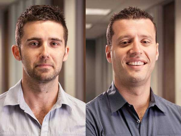 Mitchell Harper, left, and Eddie Machaalani are co-founders and co-CEOs of Bigcommerce.