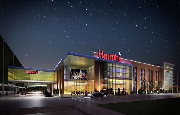 An artist's rendering of the proposed Harrah's Baltimore casino along Russell Street.