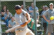 No. 3 in midsize business: Hertzbach & Co. PA  Bobby Cantor is up to bat at a Hertzbach company softball game.