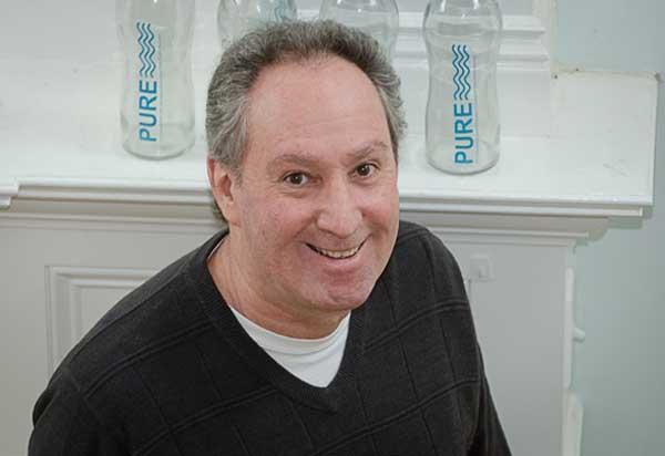 Walt Himelstein, a founder and co-owner of PURE Glass Bottle in Owings Mills, has been honing his elevator pitch.