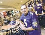 Ravens' retailers stock up for fan frenzy
