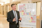 New pediatric and adult emergency departments triple the amount of space Hopkins Hospital currently has in its emergency department, said Jim Scheulen, emergency department administrator.