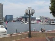The promenade along the Inner Harbor is a prime spot for watching tall ships sail into Baltimore for the Star-Spangled Sailabration.