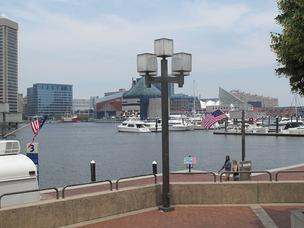 Baltimore promenade, Inner Harbor